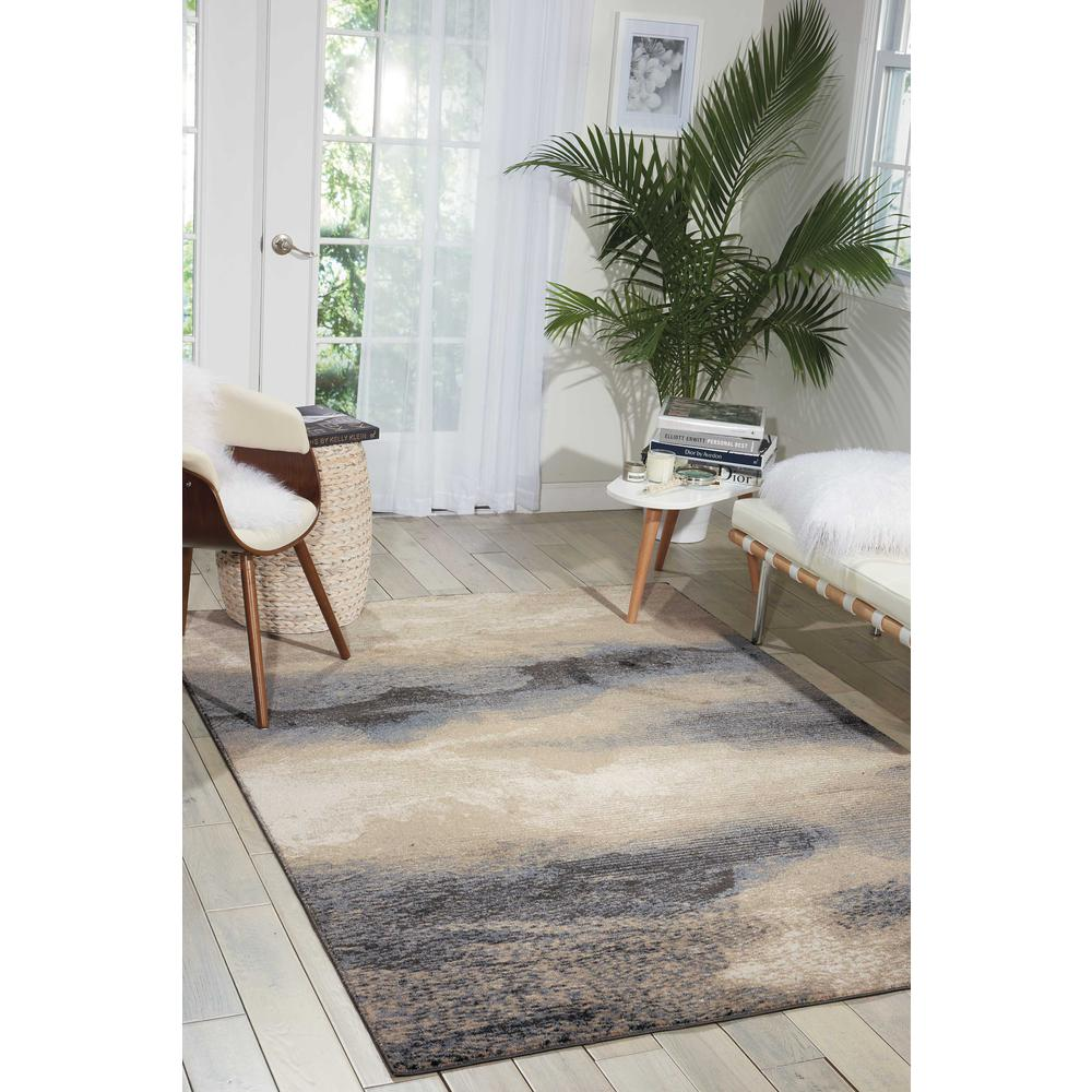 """Maxell Area Rug, Flint, 9'3"""" x 12'9"""". Picture 2"""