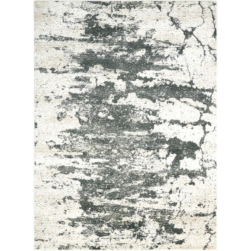 """Maxell Area Rug, Ivory/Grey, 9'3"""" x 12'9"""". Picture 1"""
