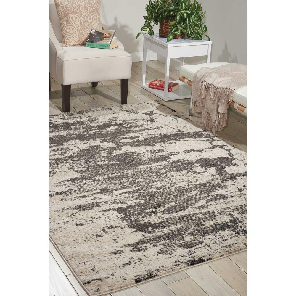 """Maxell Area Rug, Ivory/Grey, 9'3"""" x 12'9"""". Picture 2"""