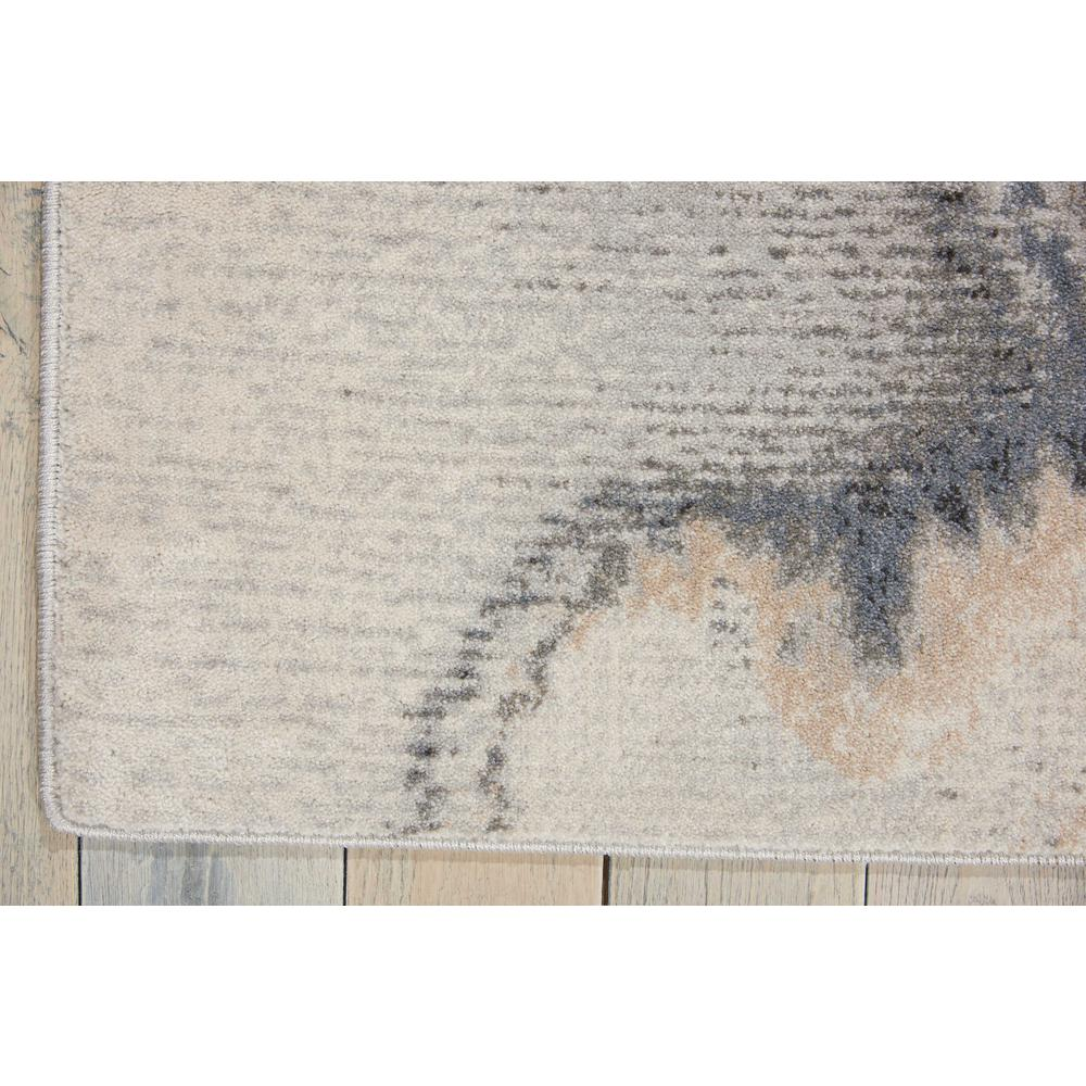 """Maxell Area Rug, Grey, 3'10"""" x 5'10"""". Picture 4"""