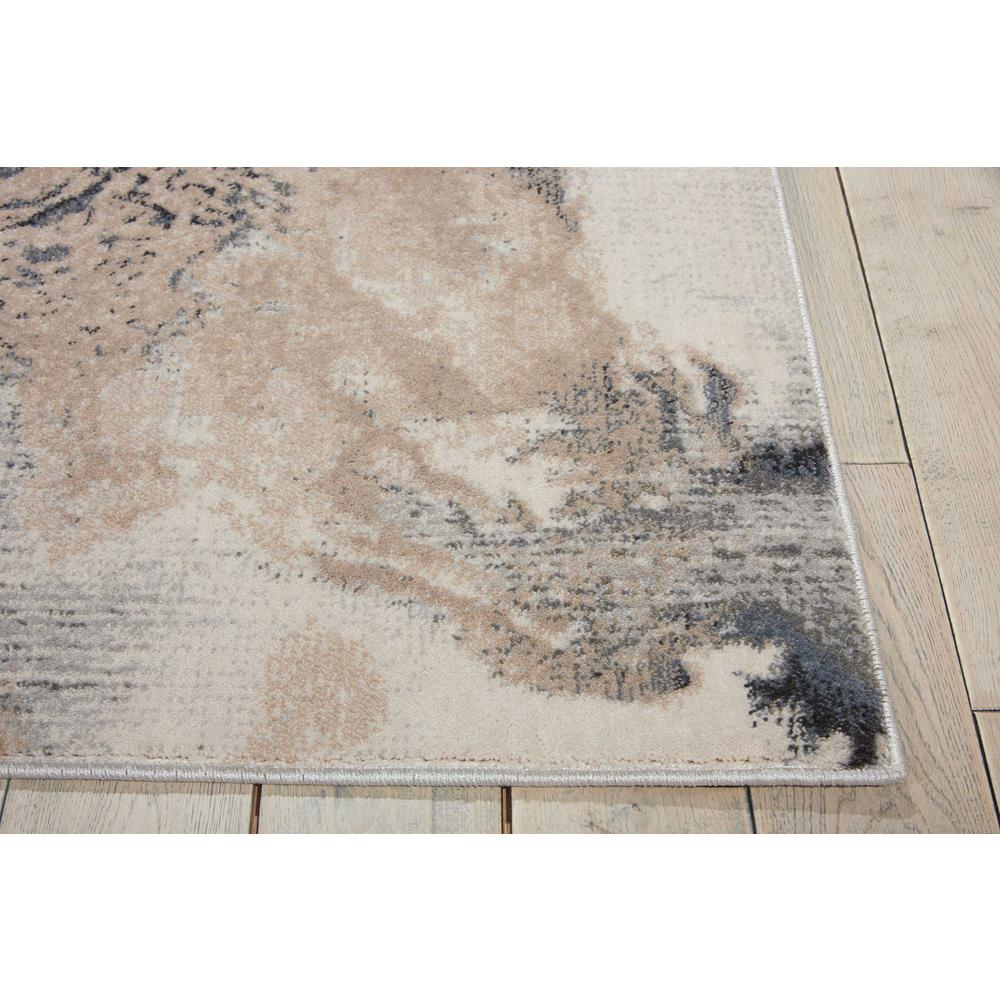 """Maxell Area Rug, Grey, 3'10"""" x 5'10"""". Picture 5"""