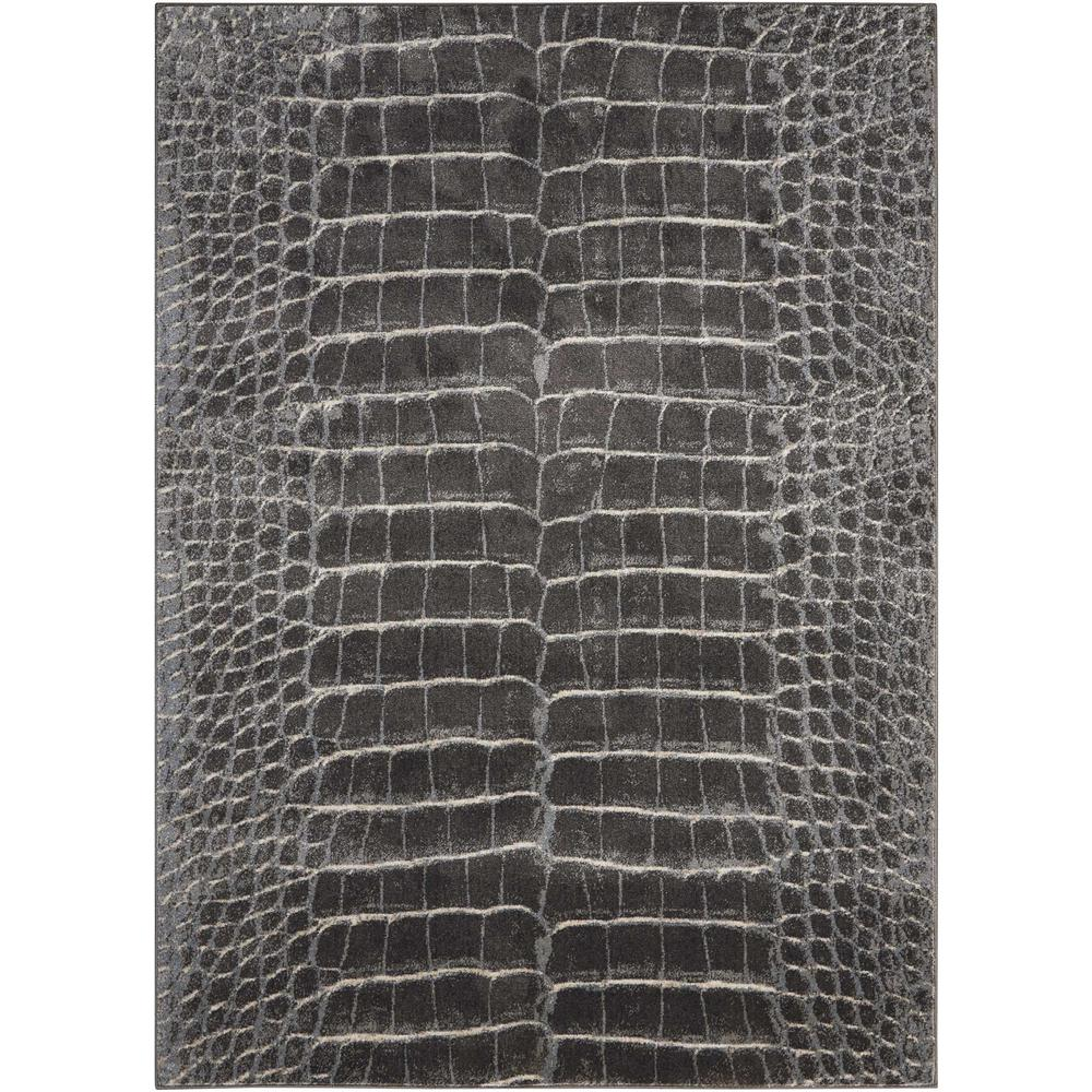 """Maxell Area Rug, Charcoal, 3'10"""" x 5'10"""". Picture 1"""