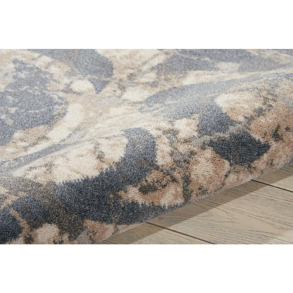 """Maxell Area Rug, Ivory/Blue, 3'10"""" x 5'10"""". Picture 7"""