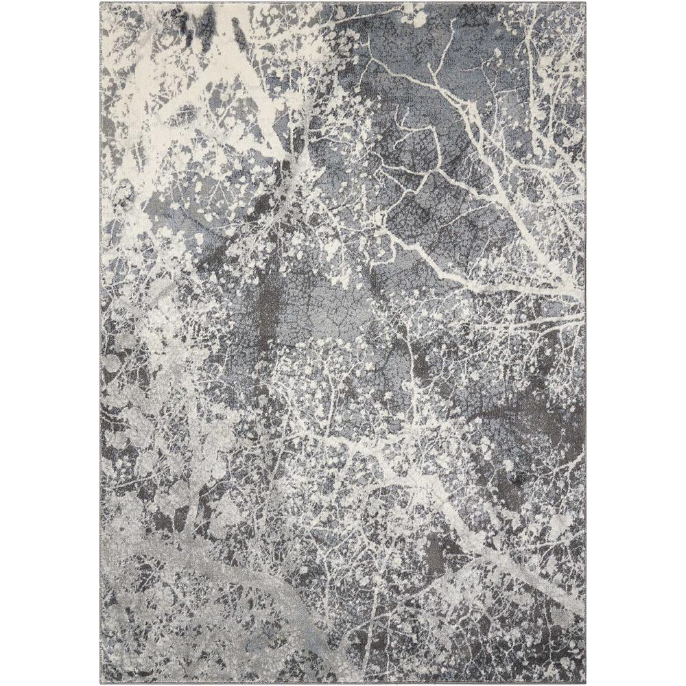 """Maxell Area Rug, Grey, 3'10"""" x 5'10"""". Picture 1"""