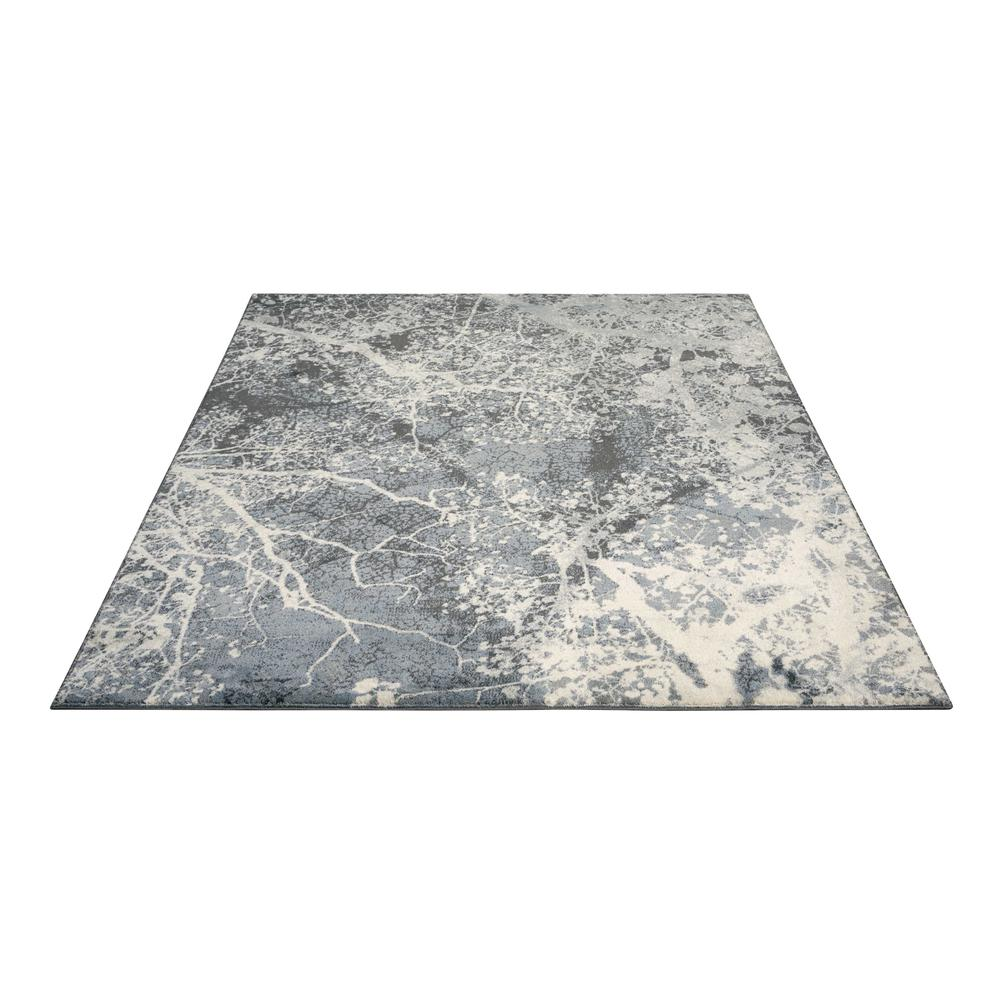 "Maxell Area Rug, Grey, 9'3"" x 12'9"". Picture 3"