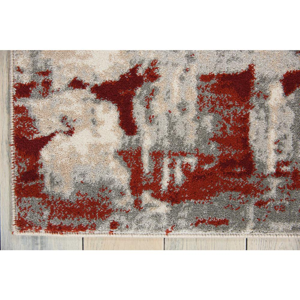 """Maxell Area Rug, Ivory/Red, 9'3"""" x 12'9"""". Picture 4"""