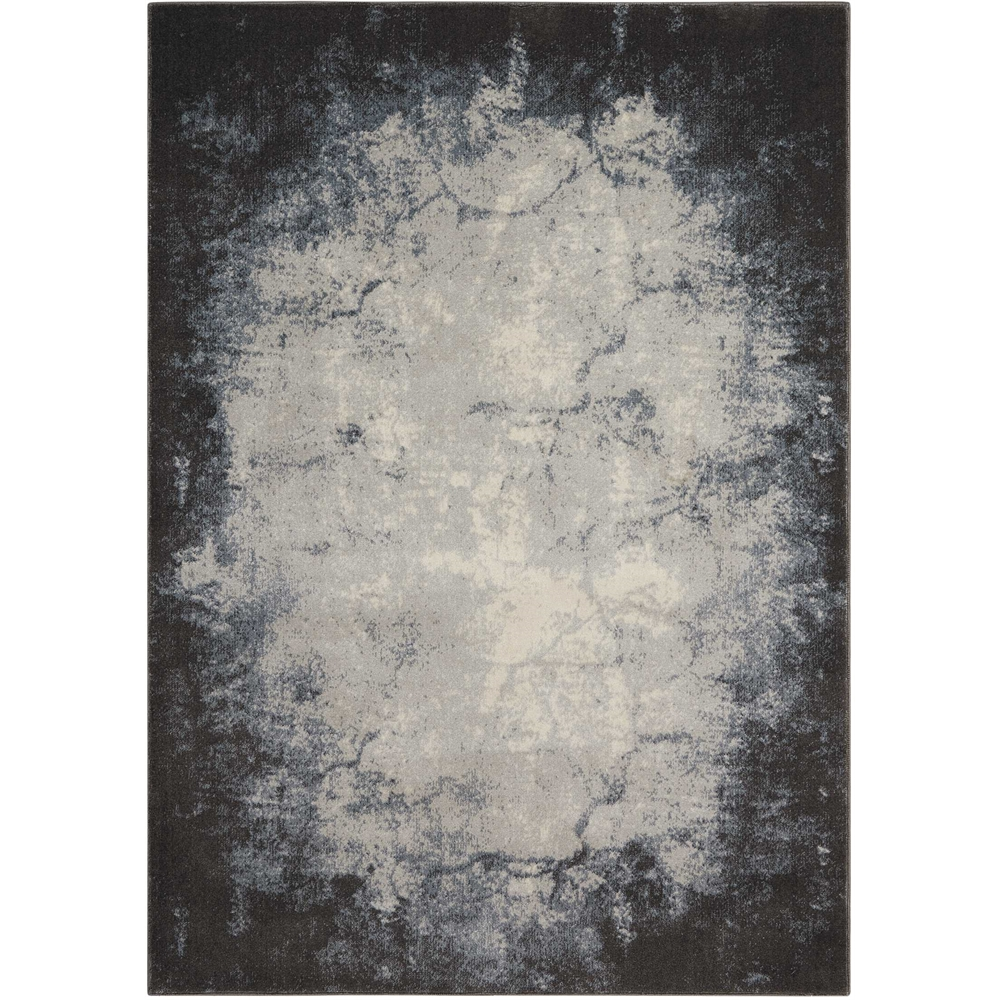 """Maxell Area Rug, Ivory/Grey, 5'3"""" x 7'3"""". Picture 1"""