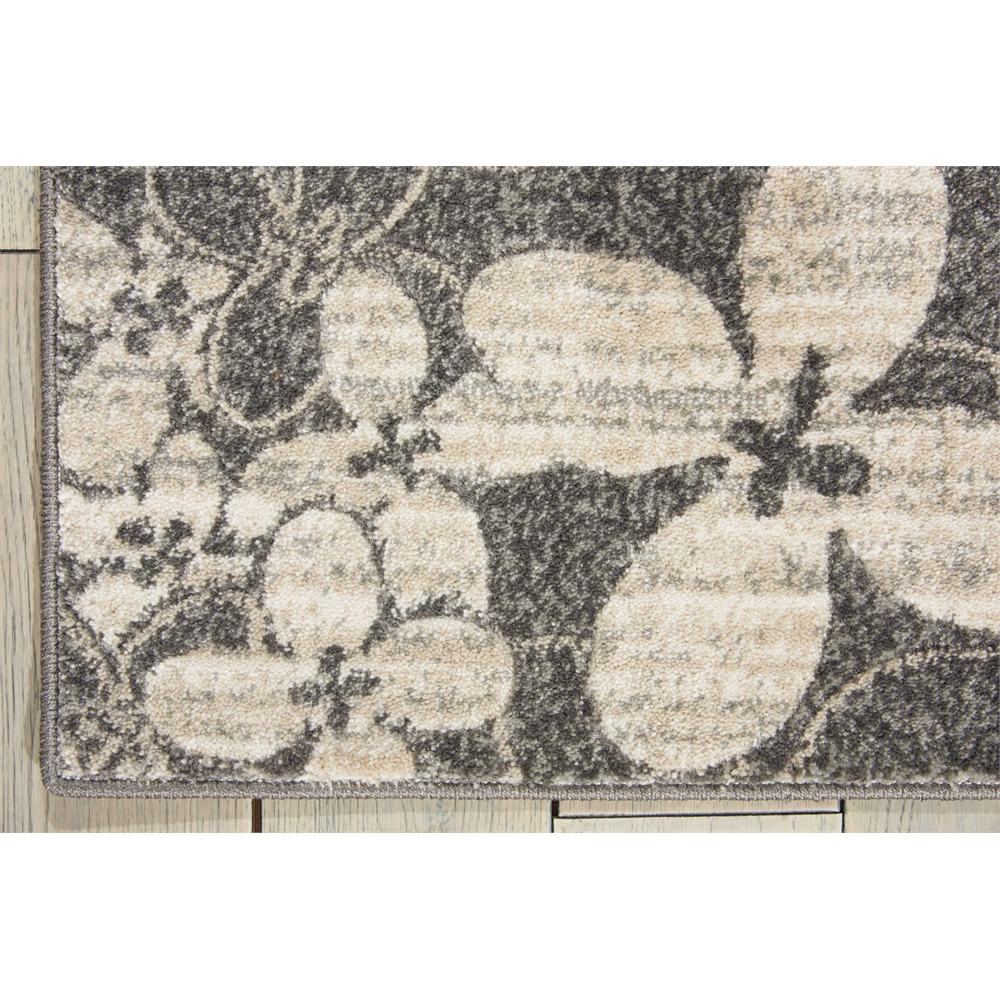 """Maxell Area Rug, Charcoal, 2'2"""" x 7'6"""". Picture 2"""