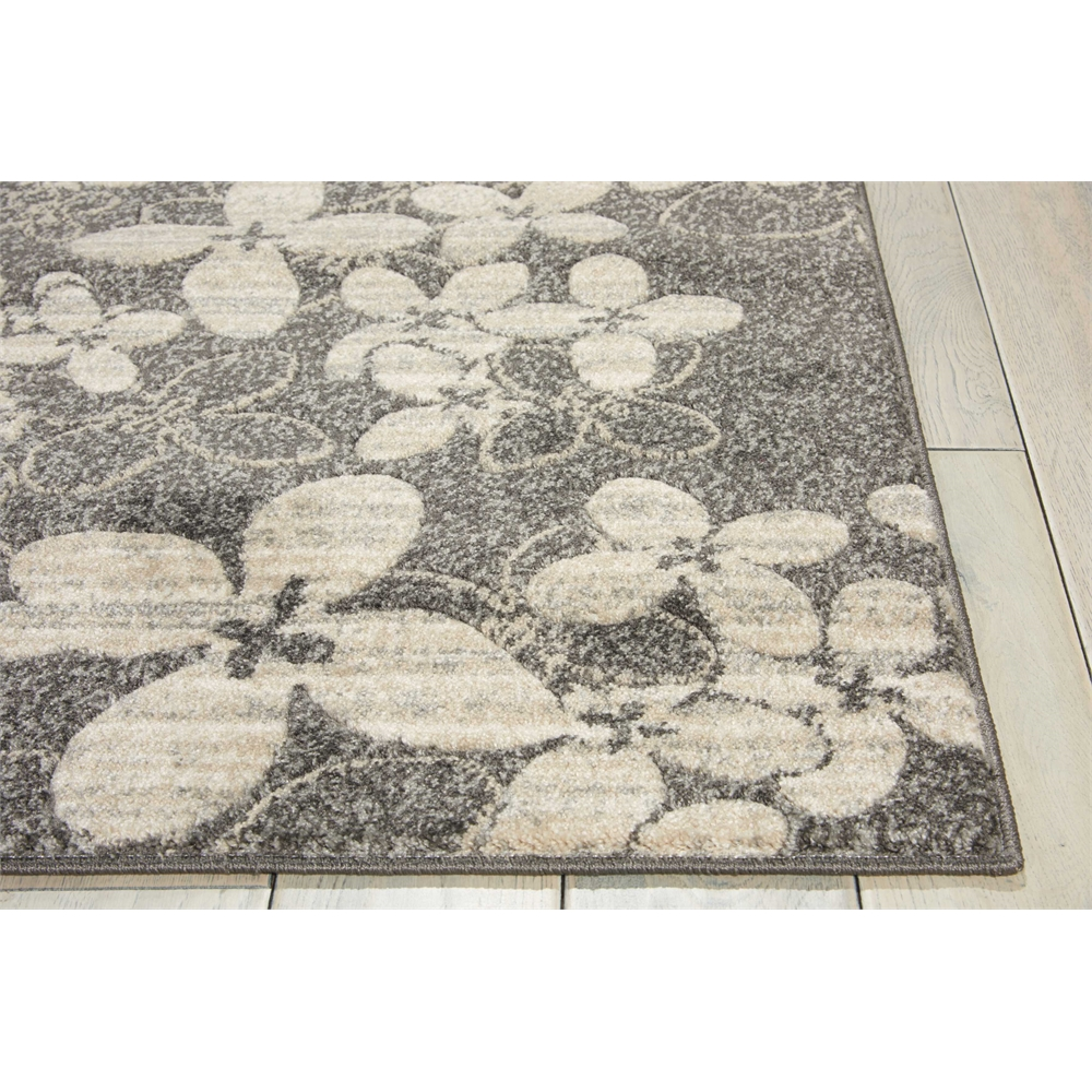 """Maxell Area Rug, Charcoal, 2'2"""" x 7'6"""". Picture 3"""