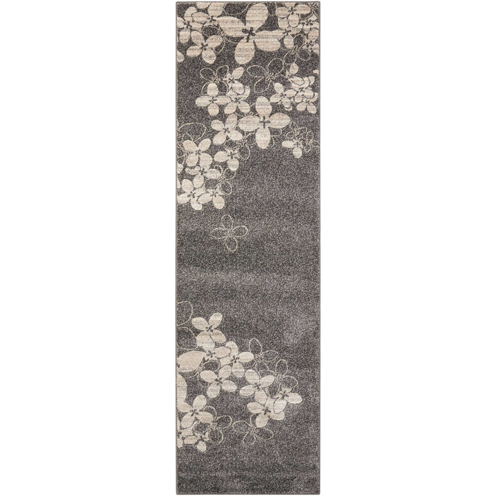 """Maxell Area Rug, Charcoal, 2'2"""" x 7'6"""". Picture 1"""