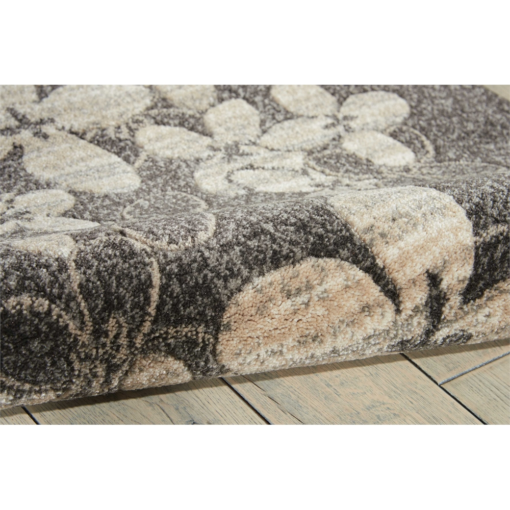 """Maxell Area Rug, Charcoal, 2'2"""" x 7'6"""". Picture 5"""