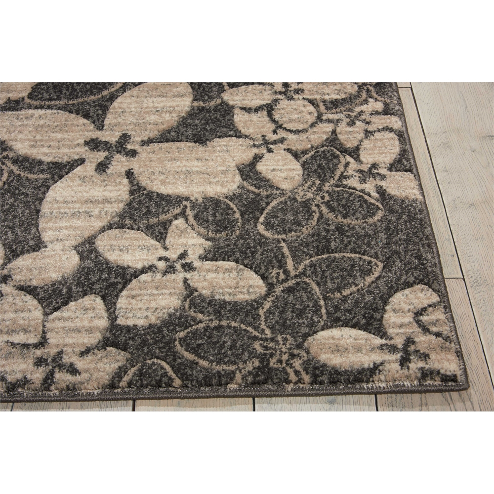 "Maxell Area Rug, Charcoal, 5'3"" x 7'3"". Picture 3"