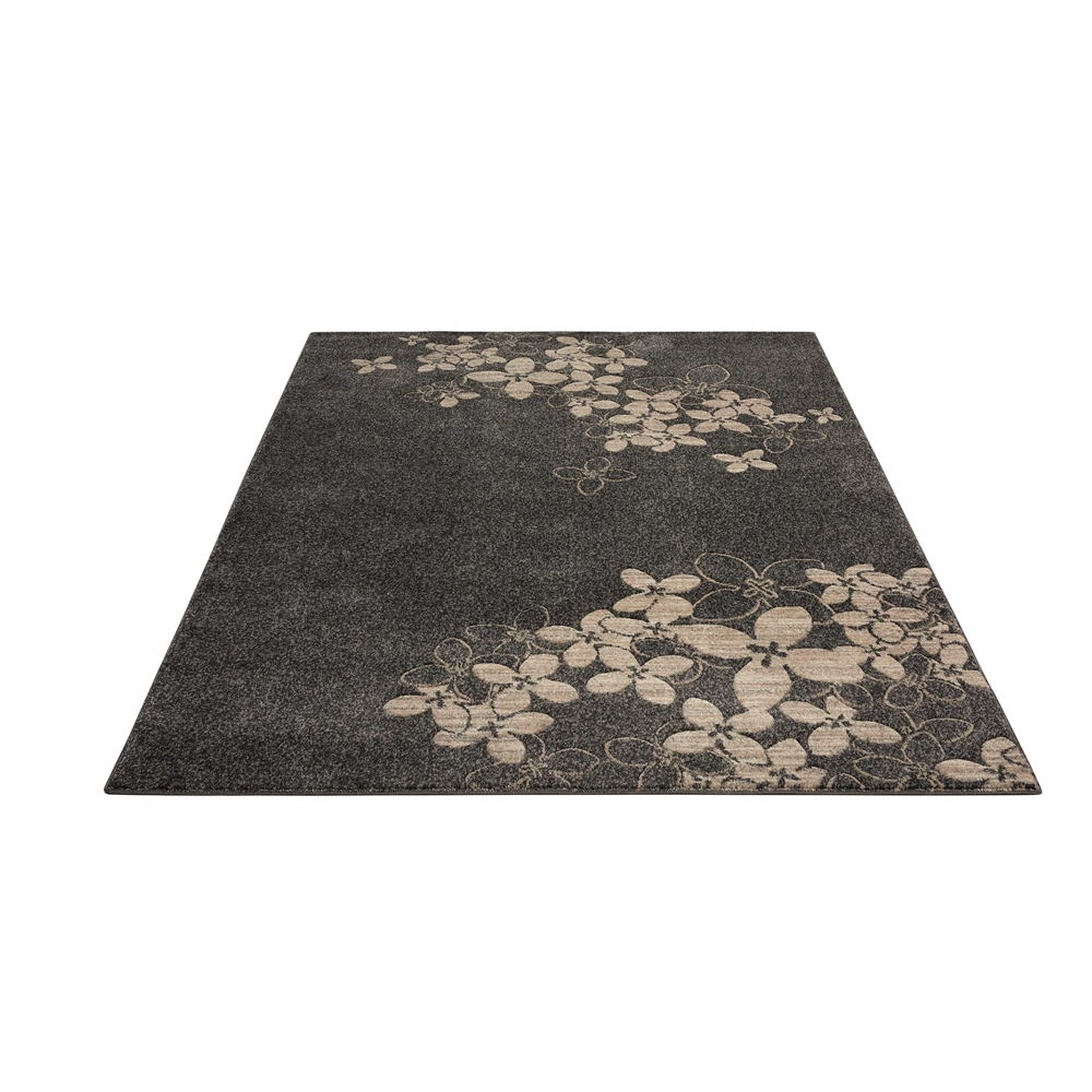 "Maxell Area Rug, Charcoal, 5'3"" x 7'3"". Picture 5"