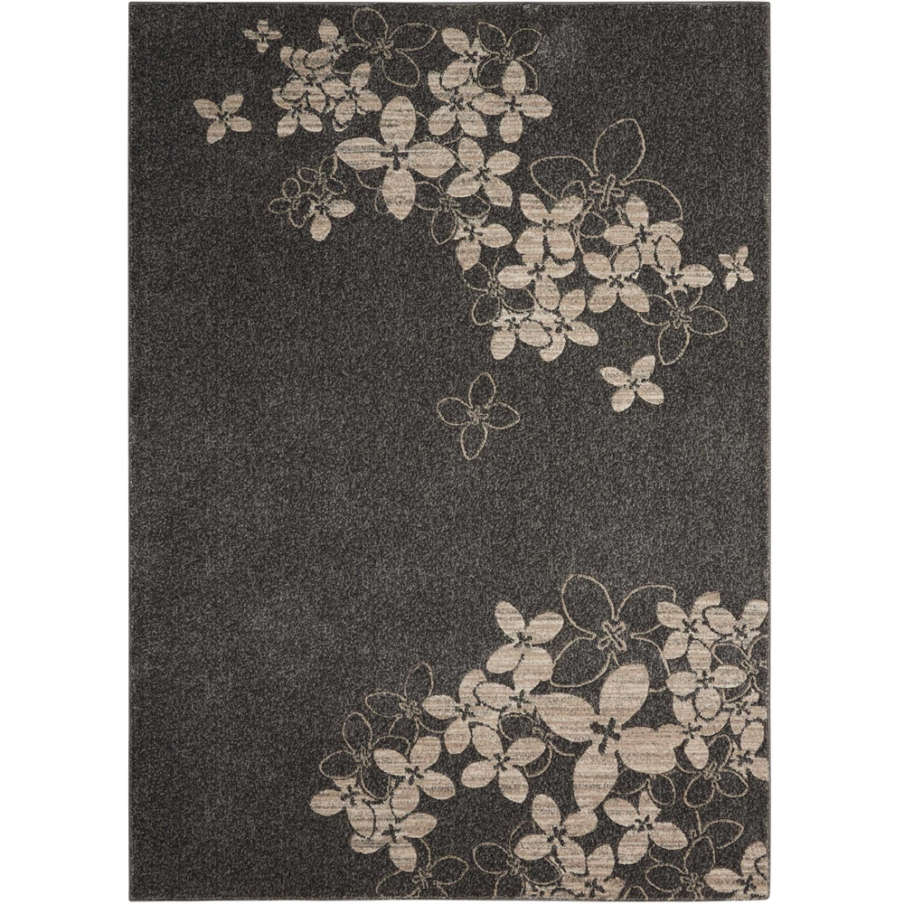 "Maxell Area Rug, Charcoal, 5'3"" x 7'3"". Picture 1"