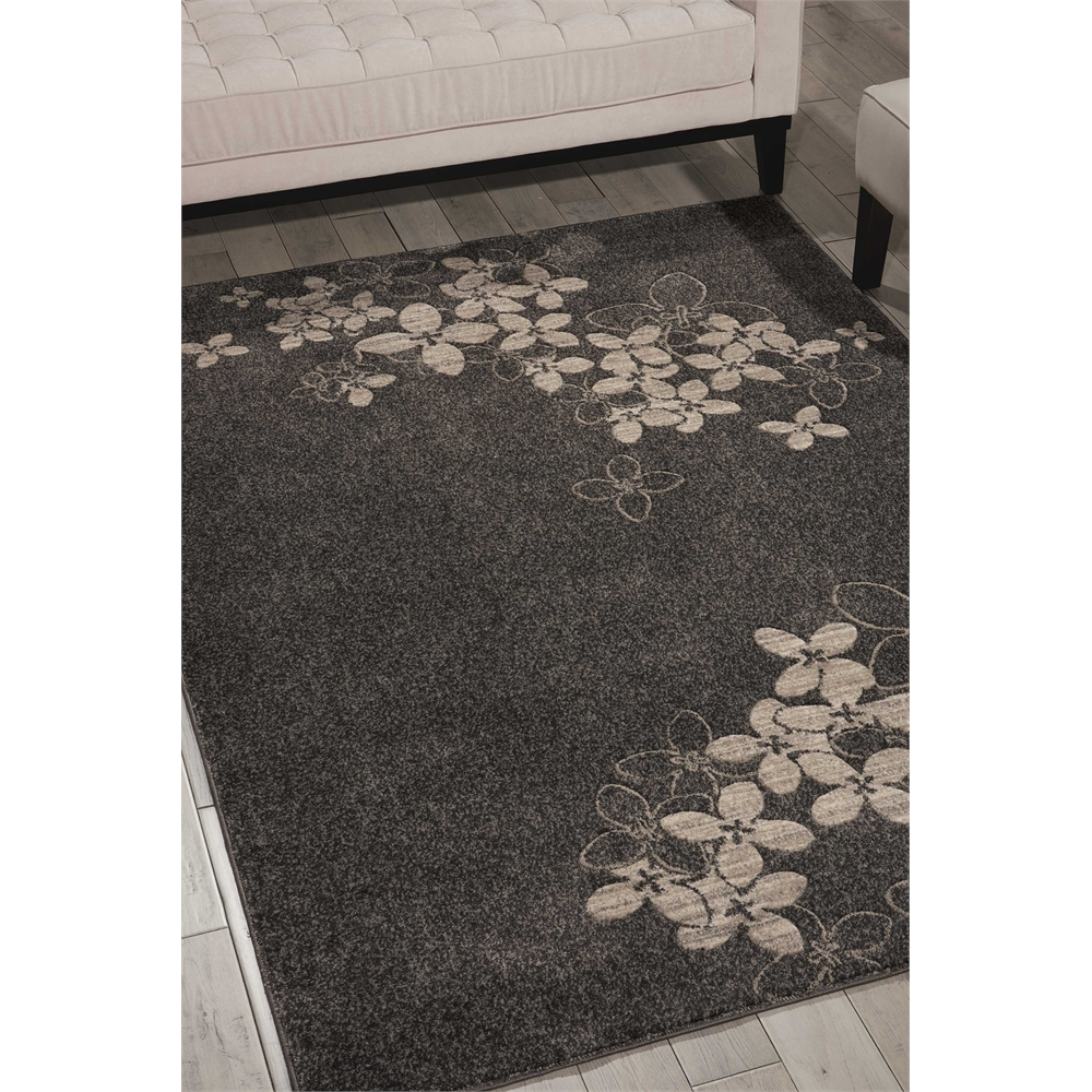 "Maxell Area Rug, Charcoal, 5'3"" x 7'3"". Picture 6"