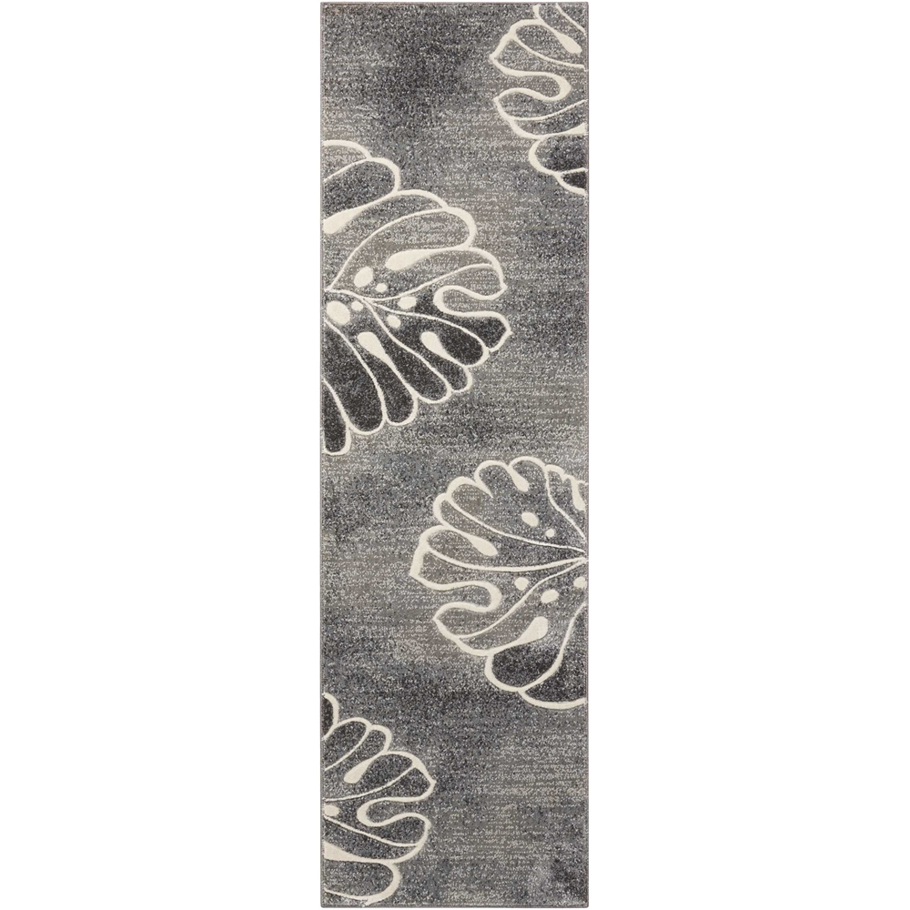 "Maxell Area Rug, Grey, 2'2"" x 7'6"". Picture 1"