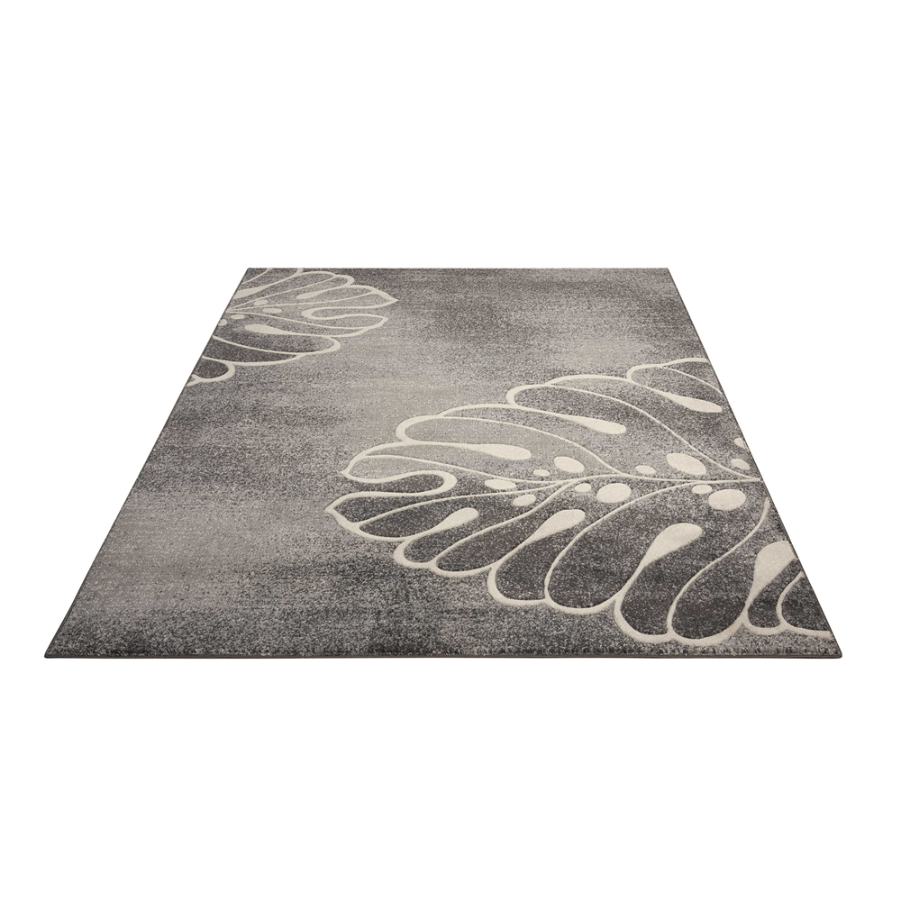 """Maxell Area Rug, Grey, 5'3"""" x 7'3"""". Picture 5"""