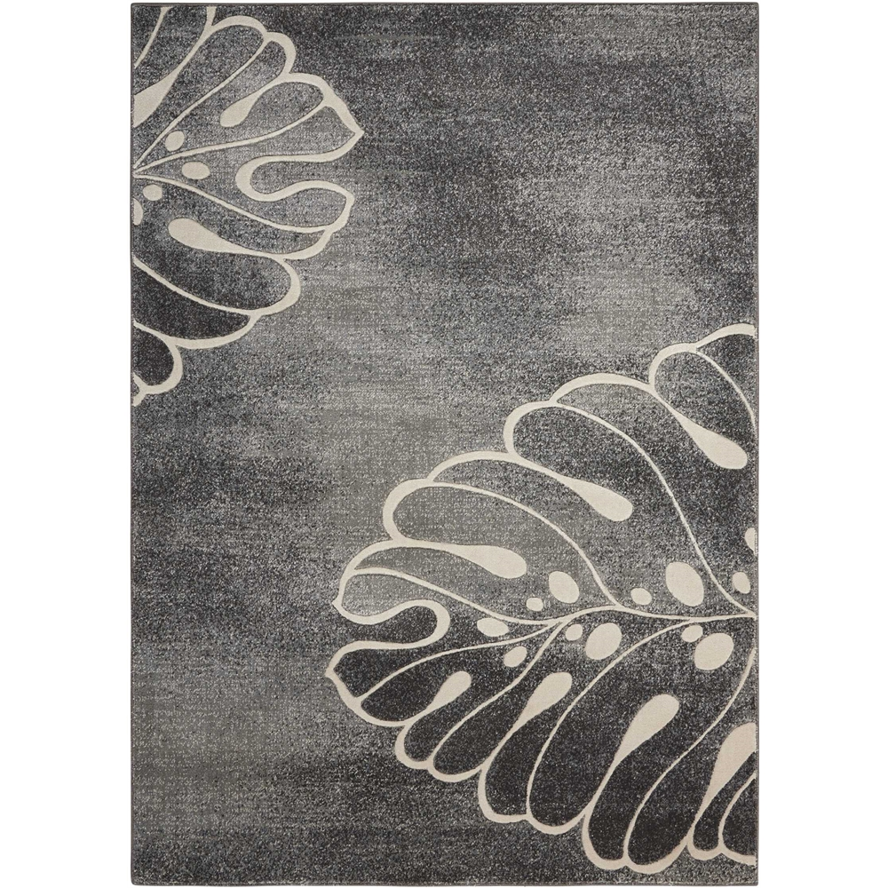 """Maxell Area Rug, Grey, 5'3"""" x 7'3"""". Picture 1"""
