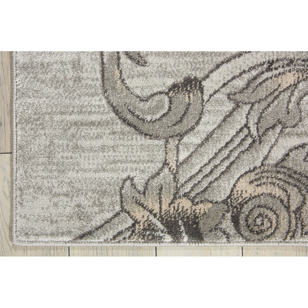 "Maxell Area Rug, Graphite, 2'2"" x 7'6"". Picture 2"