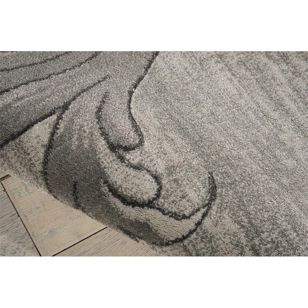 "Maxell Area Rug, Graphite, 5'3"" x 7'3"". Picture 4"
