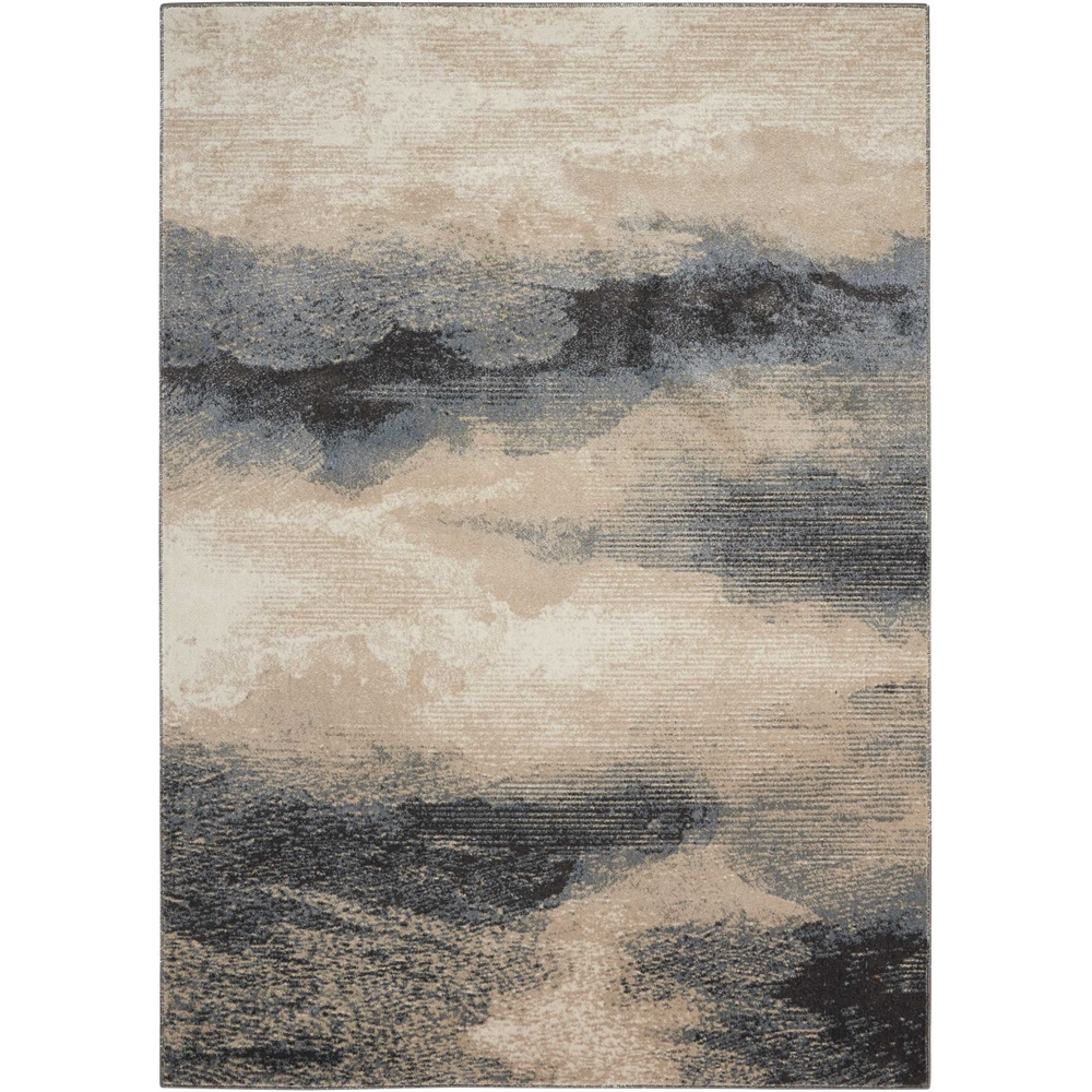 """Maxell Area Rug, Flint, 5'3"""" x 7'3"""". Picture 1"""