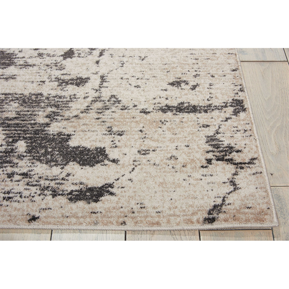 """Maxell Area Rug, Ivory/Grey, 5'3"""" x 7'3"""". Picture 3"""
