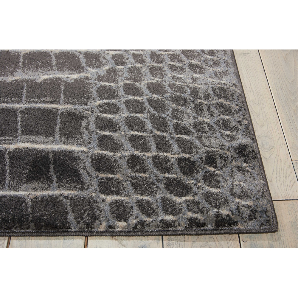 """Maxell Area Rug, Charcoal, 5'3"""" x 7'3"""". Picture 3"""