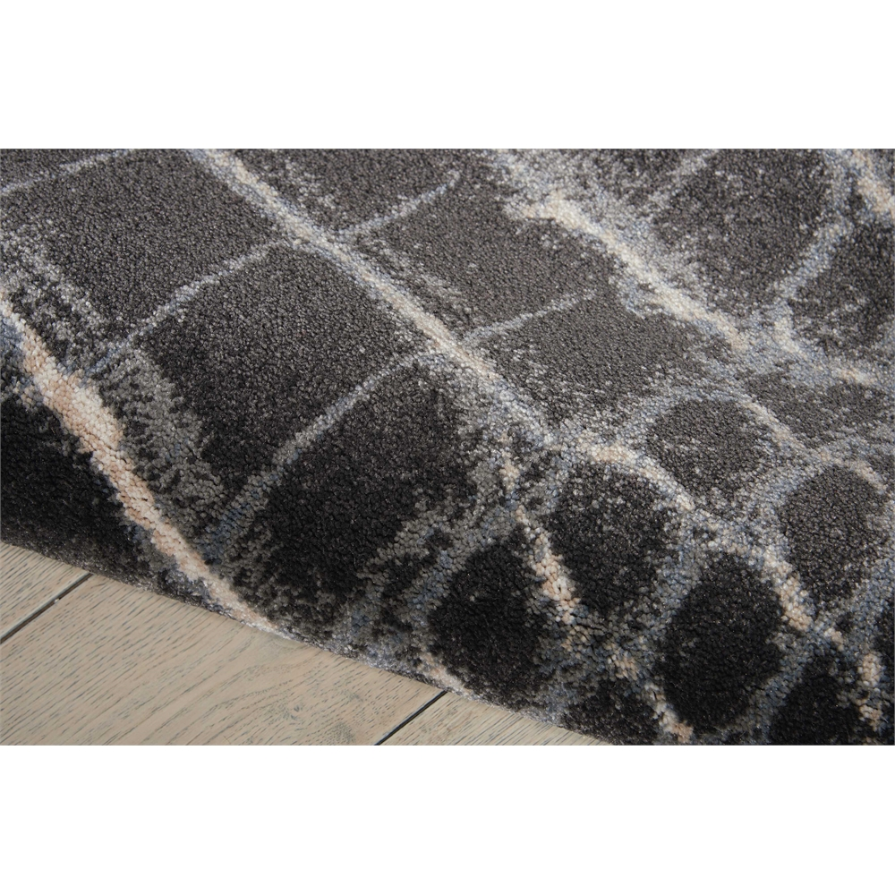 """Maxell Area Rug, Charcoal, 5'3"""" x 7'3"""". Picture 4"""