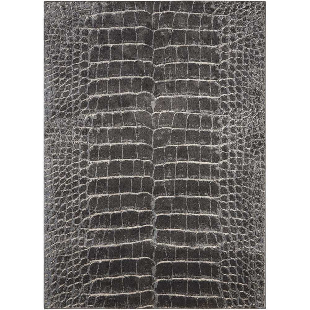 """Maxell Area Rug, Charcoal, 5'3"""" x 7'3"""". Picture 1"""