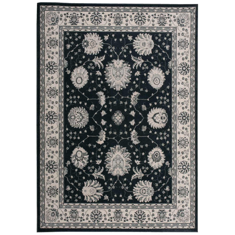 Maymana Charcoal Area Rug. Picture 1