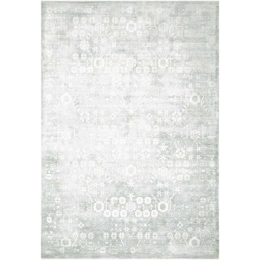 """Desert Skies Area Rug, Silver/Green, 5'3"""" x 7'5"""". Picture 1"""
