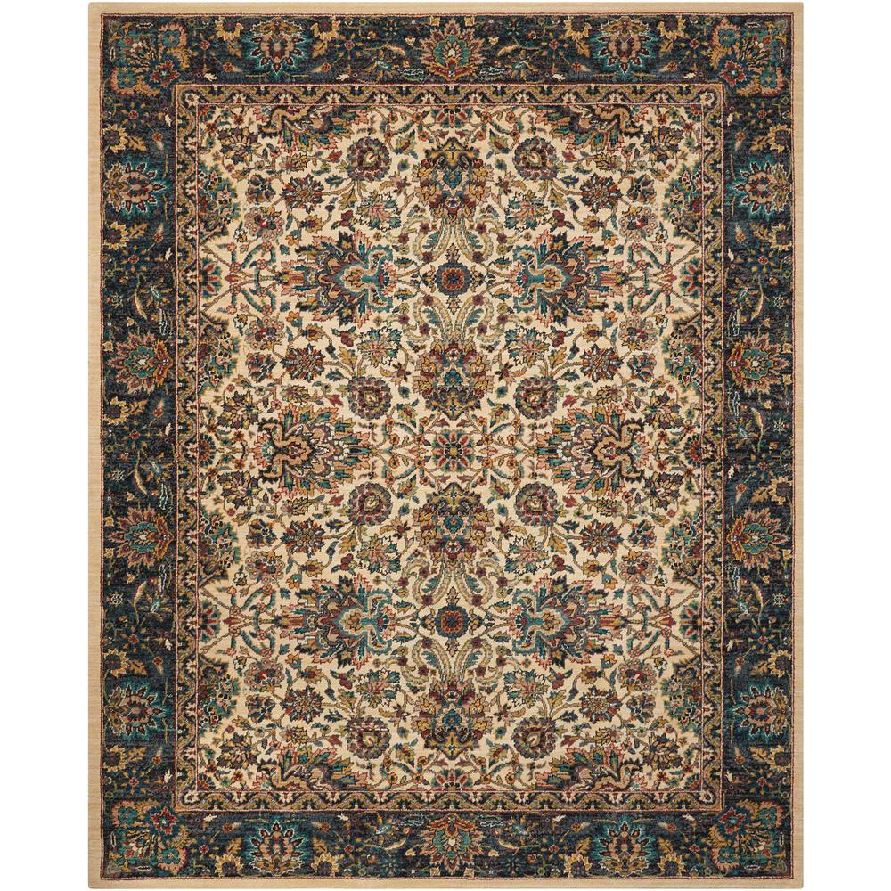 "Nourison 2020 Area Rug, Ivory, 5'3"" x 7'5"". The main picture."