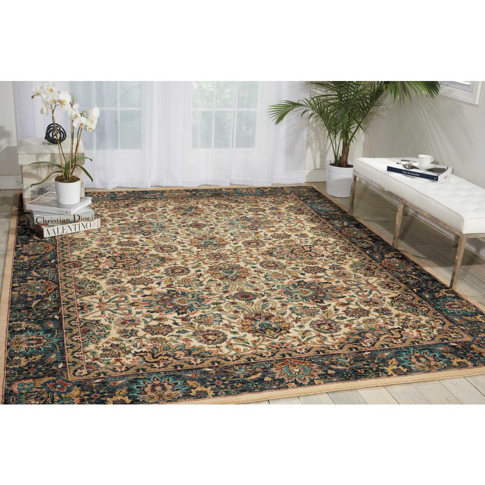 """Nourison 2020 Area Rug, Ivory, 5'3"""" x 7'5"""". Picture 2"""