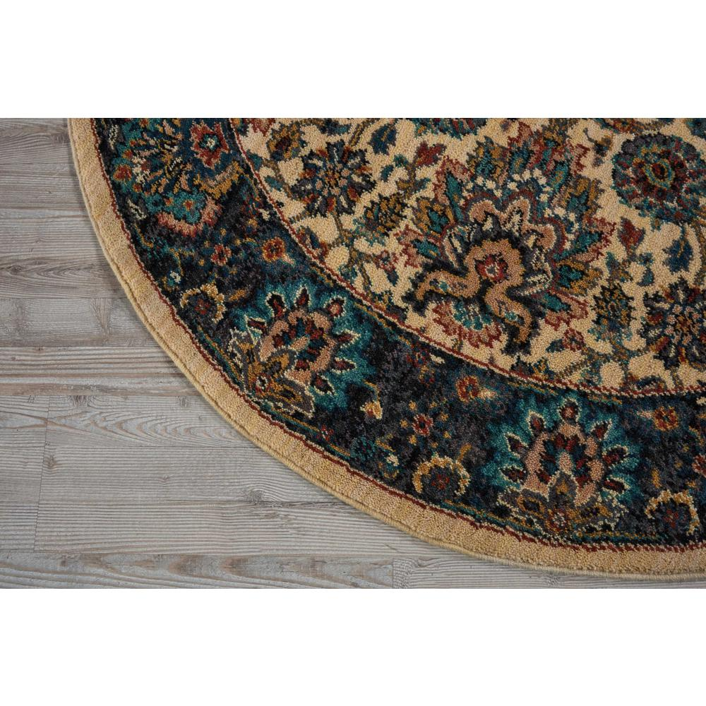 """Nourison 2020 Area Rug, Ivory, 7'5"""" x ROUND. Picture 3"""