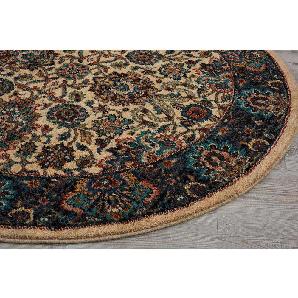 """Nourison 2020 Area Rug, Ivory, 7'5"""" x ROUND. Picture 4"""