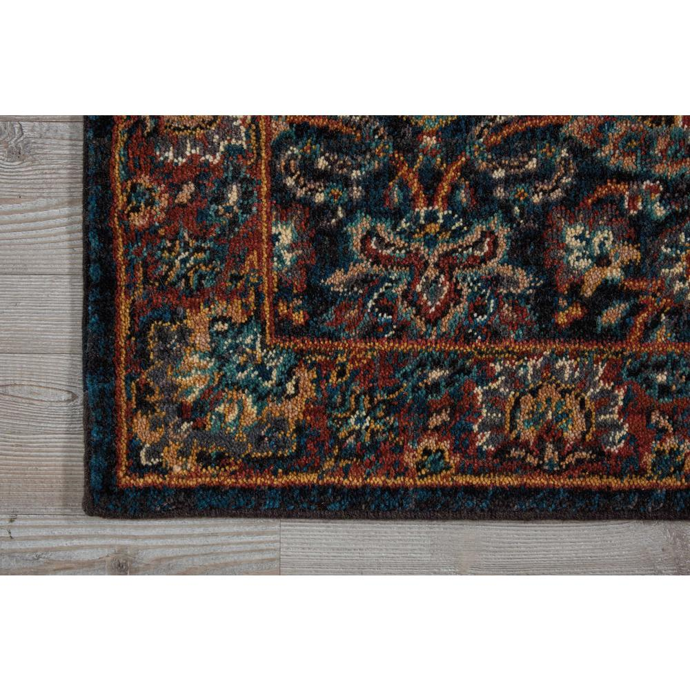 "Nourison 2020 Area Rug, Navy, 2'3"" x 8'. Picture 3"