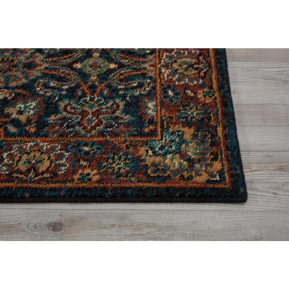"Nourison 2020 Area Rug, Navy, 2'3"" x 8'. Picture 4"