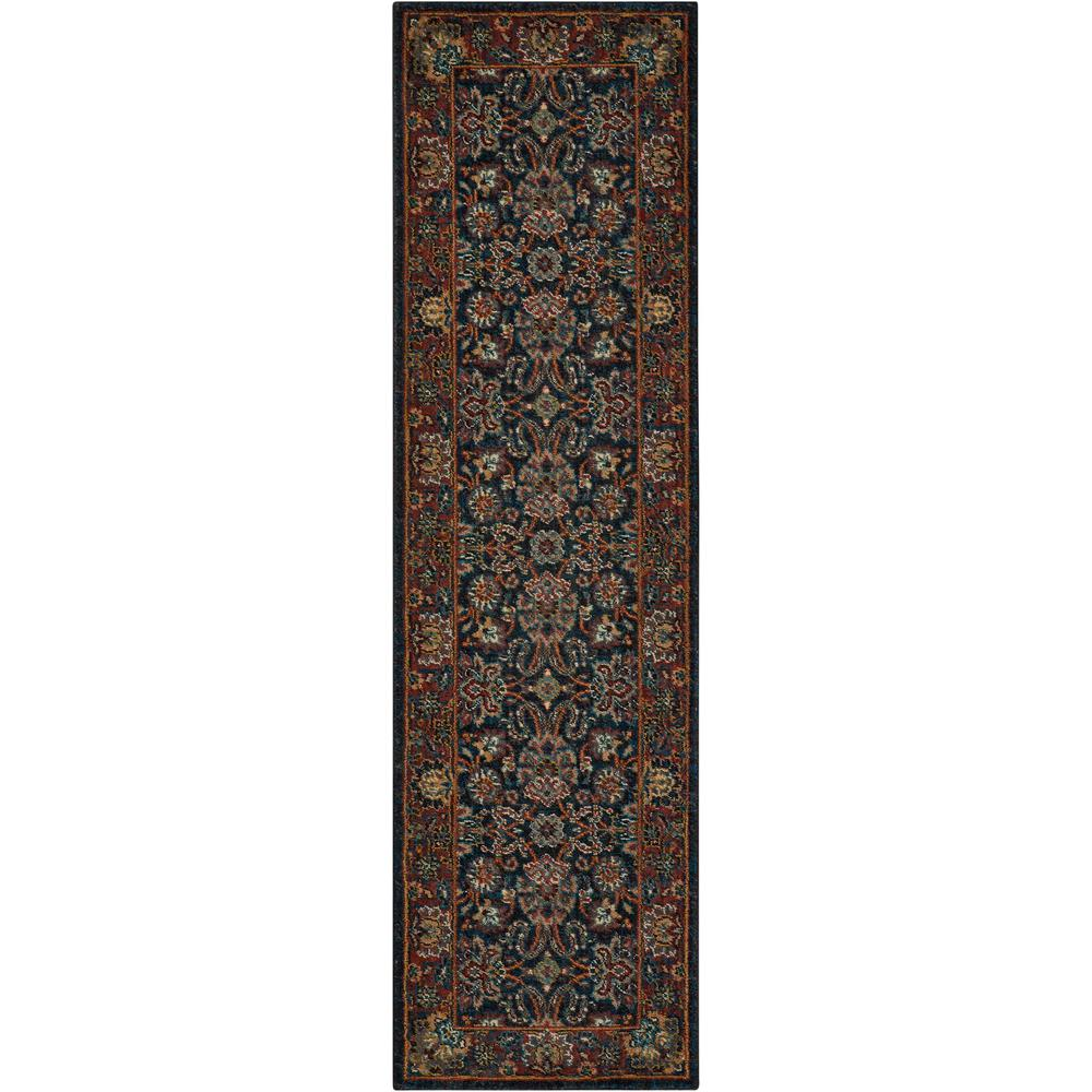 "Nourison 2020 Area Rug, Navy, 2'3"" x 8'. Picture 1"