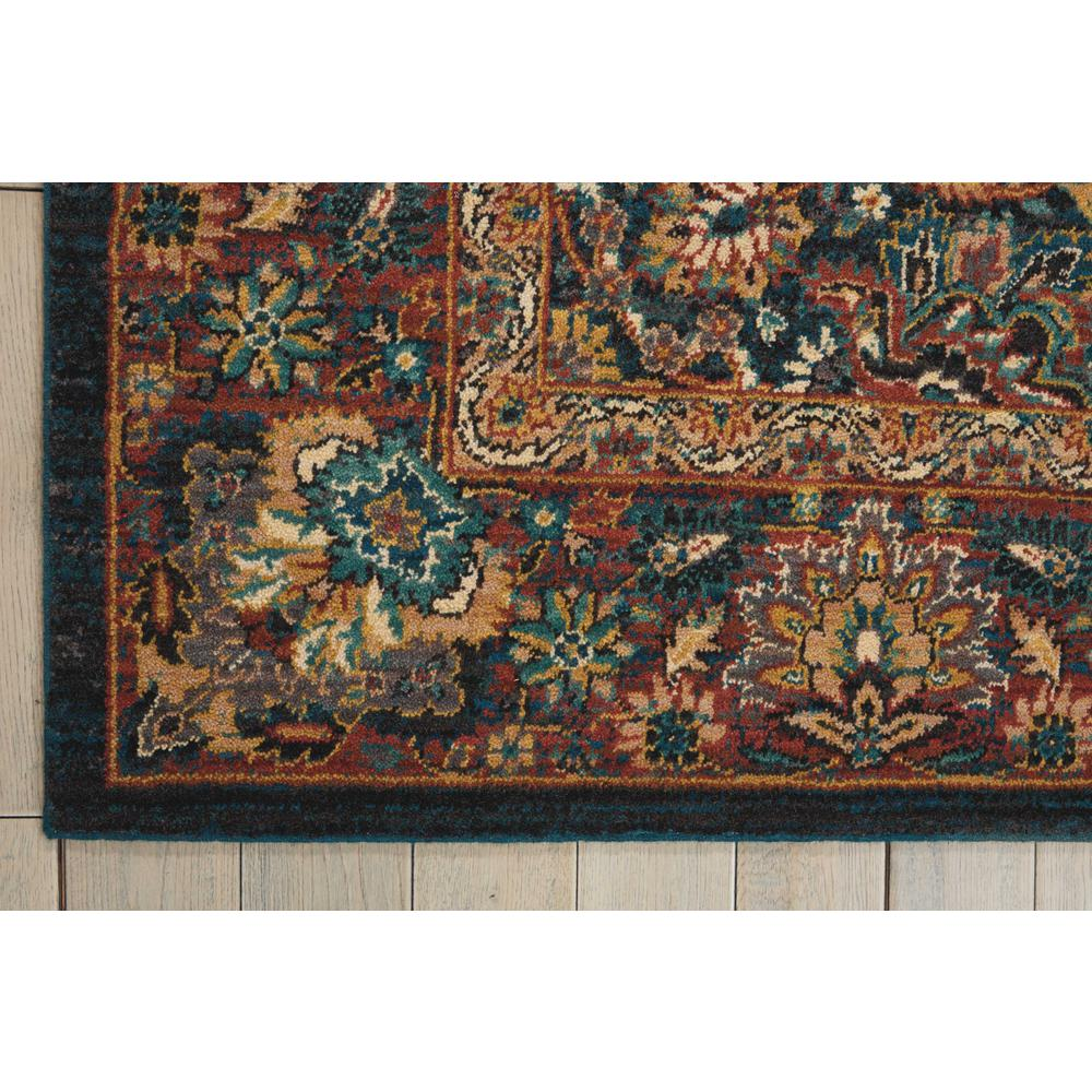 Nourison 2020 Area Rug, Navy, 4' x 6'. Picture 4