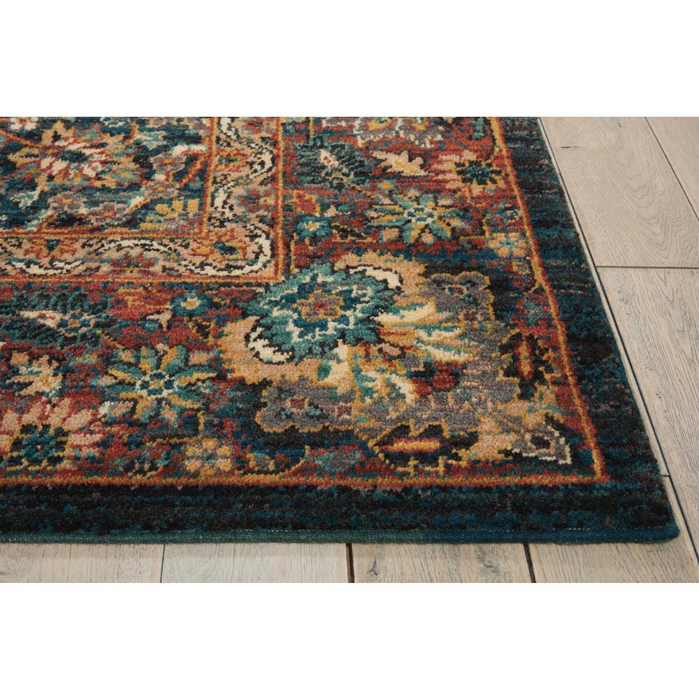 Nourison 2020 Area Rug, Navy, 4' x 6'. Picture 5