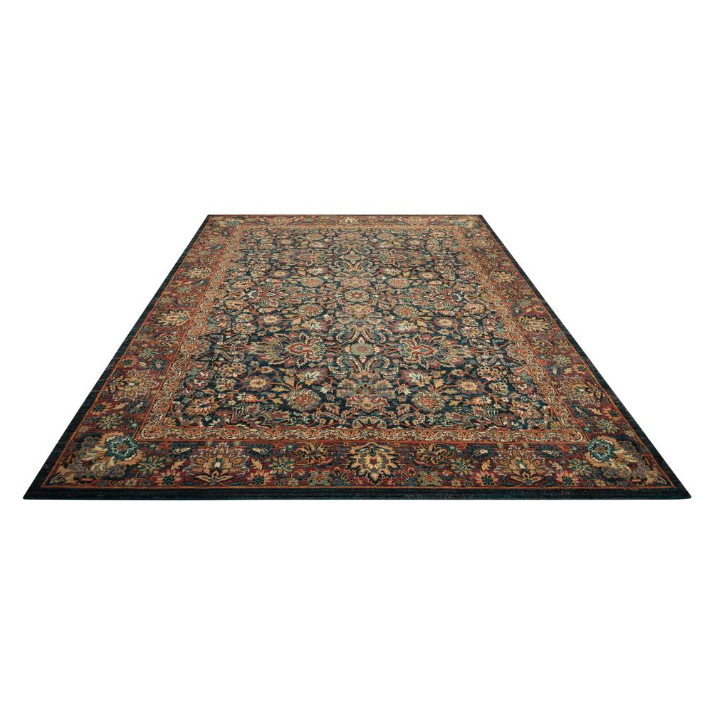 Nourison 2020 Area Rug, Navy, 4' x 6'. Picture 3