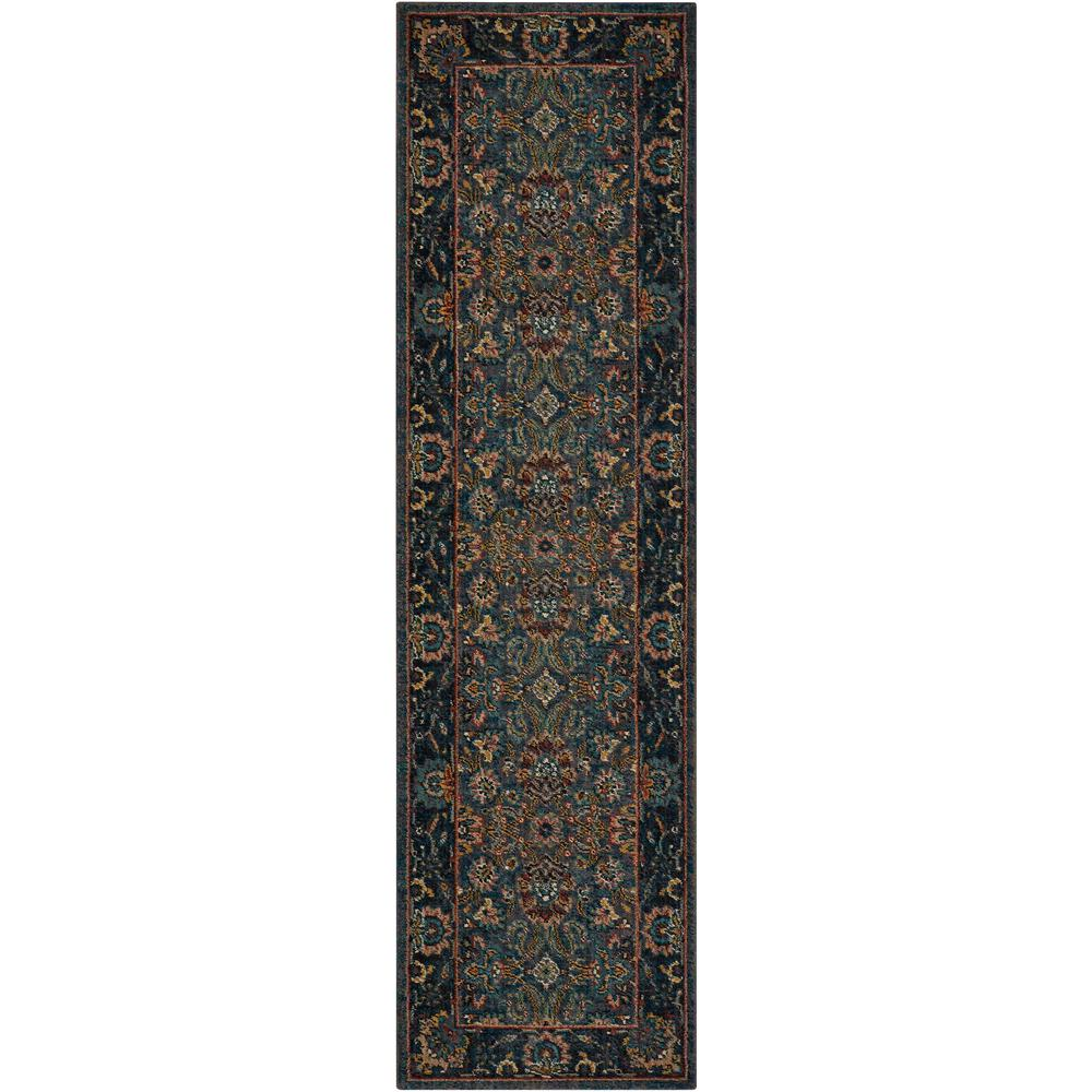 "Nourison 2020 Area Rug, Steel, 2'3"" x 8'. Picture 1"
