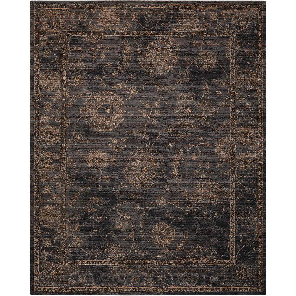 Nourison 2020 Area Rug, Charcoal, 12' x 15'. Picture 1