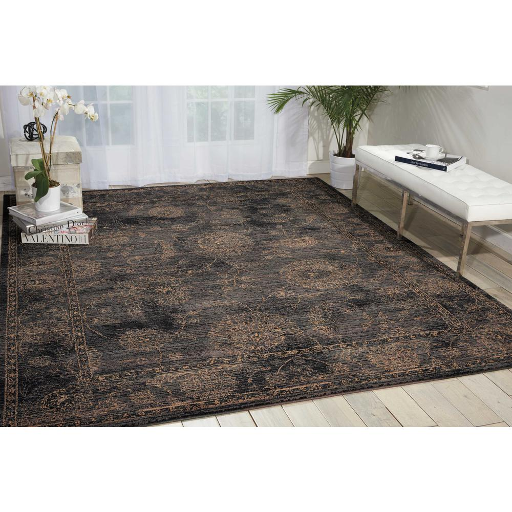 Nourison 2020 Area Rug, Charcoal, 12' x 15'. Picture 2