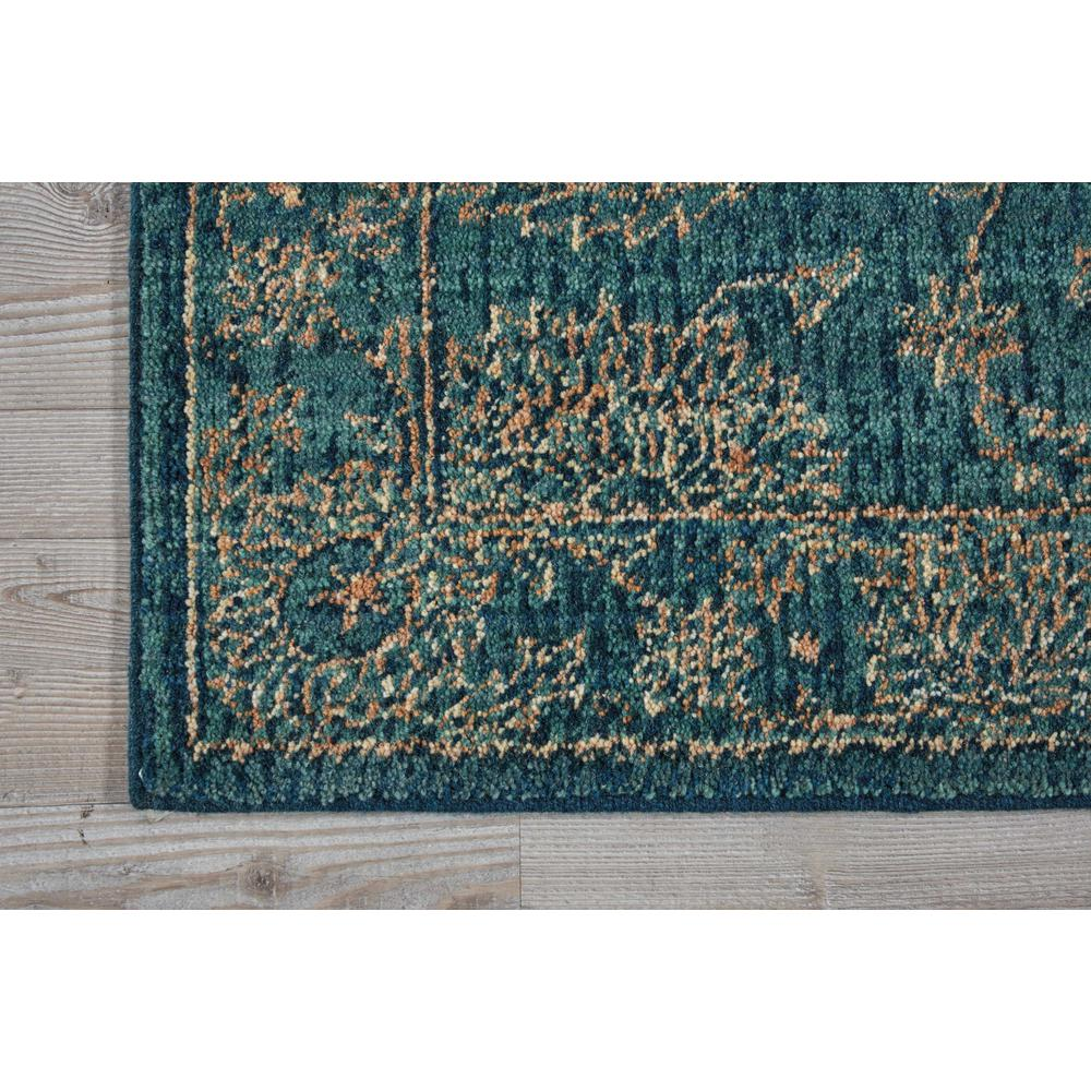 """Nourison 2020 Area Rug, Teal, 2'3"""" x 8'. Picture 3"""