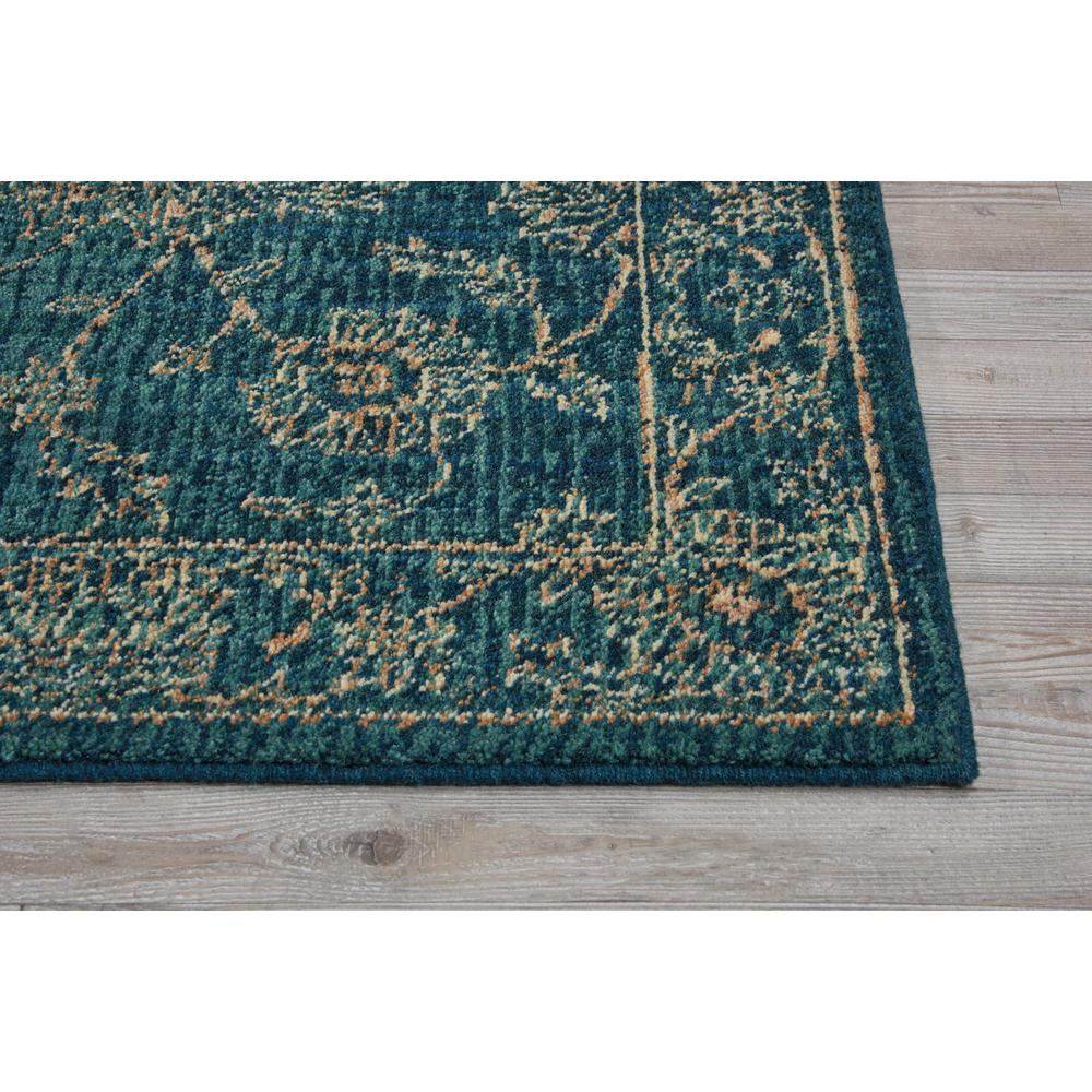 """Nourison 2020 Area Rug, Teal, 2'3"""" x 8'. Picture 4"""