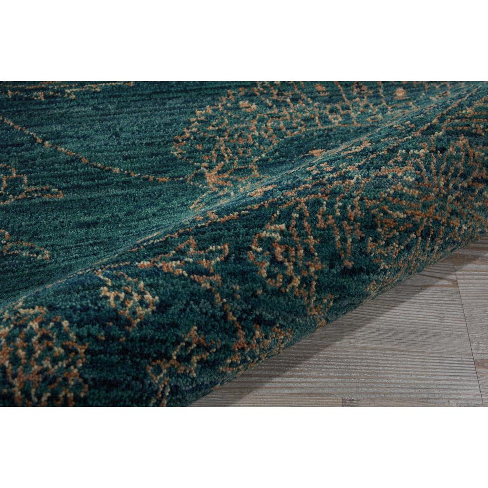 """Nourison 2020 Area Rug, Teal, 7'5"""" x ROUND. Picture 5"""