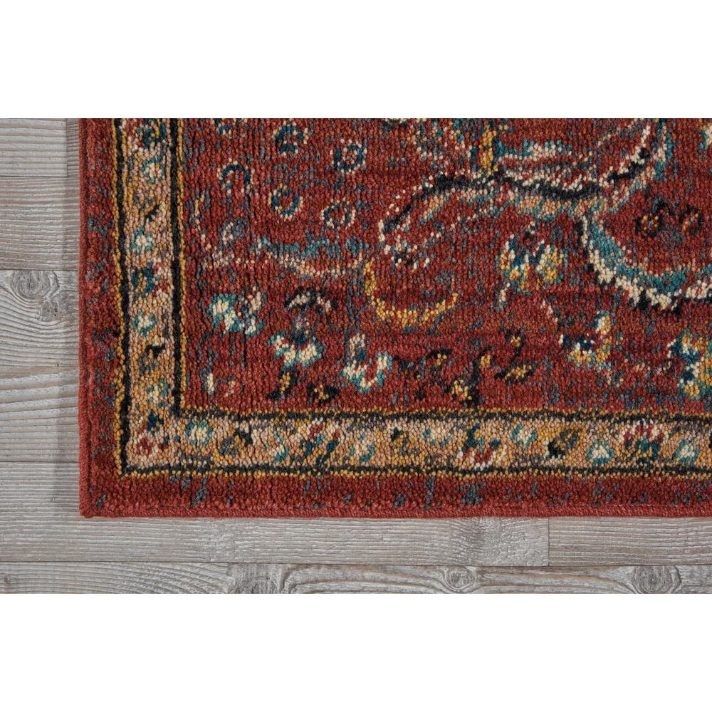 "Nourison 2020 Area Rug, Brick, 2'3"" x 8'. Picture 3"