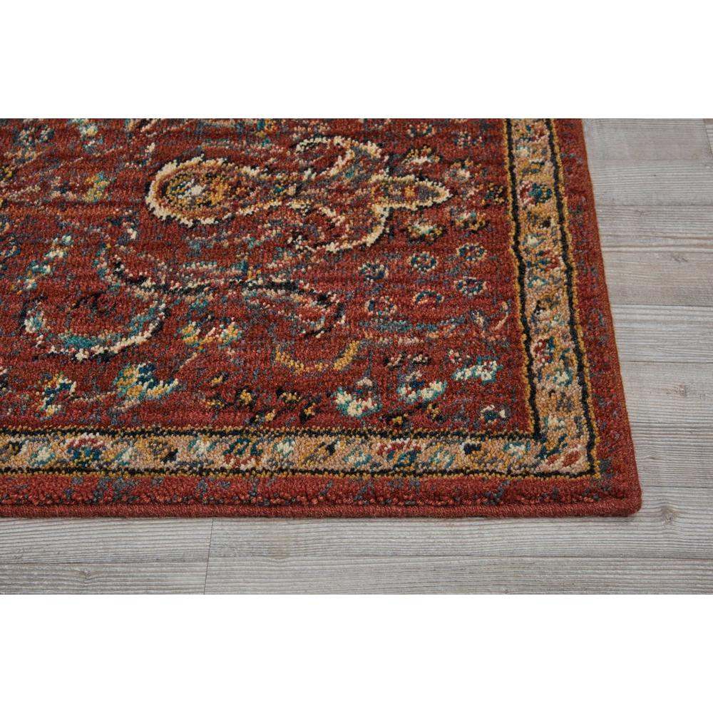 "Nourison 2020 Area Rug, Brick, 2'3"" x 8'. Picture 4"