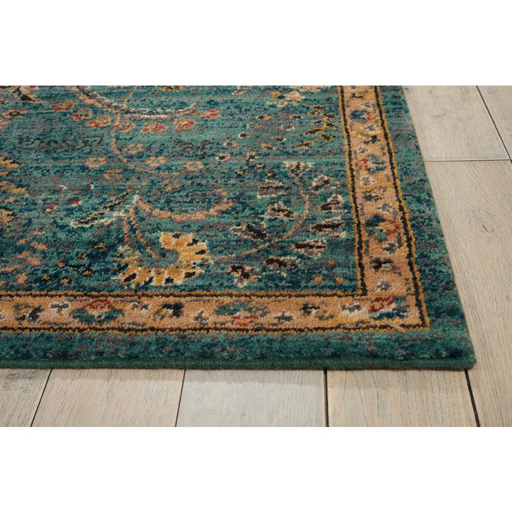 Nourison 2020 Area Rug, Teal, 4' x 6'. Picture 5